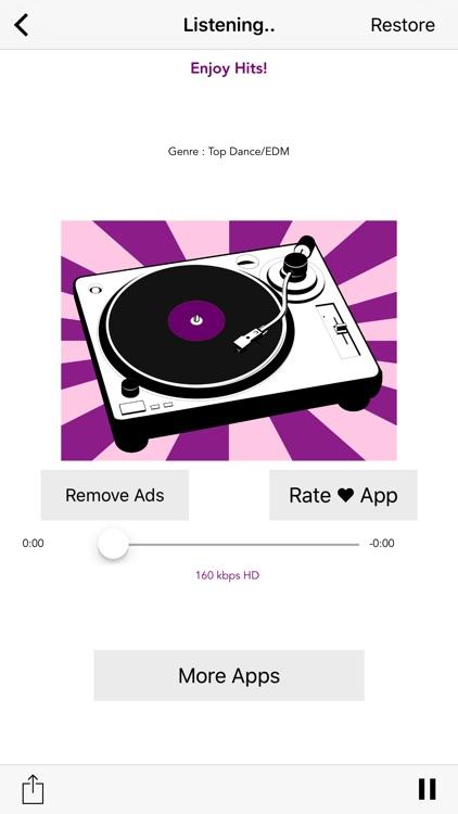 TOP HOUSE Music Radio Stations - Deep Dance Mix screenshot-4
