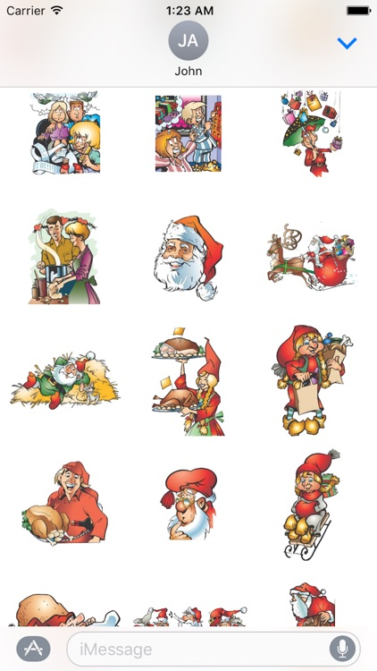 Happy Christmas Sticker Pack 01