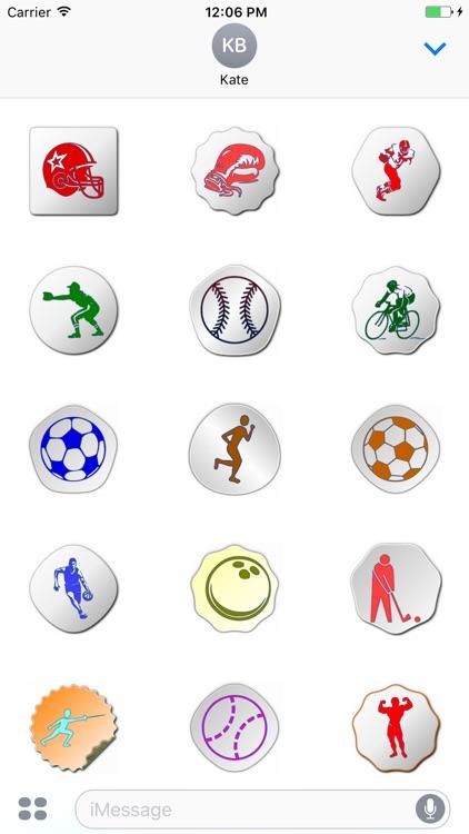Cute Sports Stickers