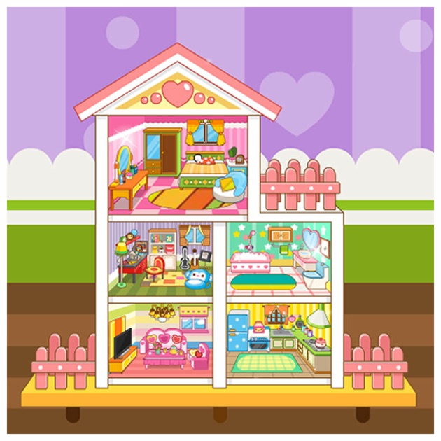 doll house design game on the app store