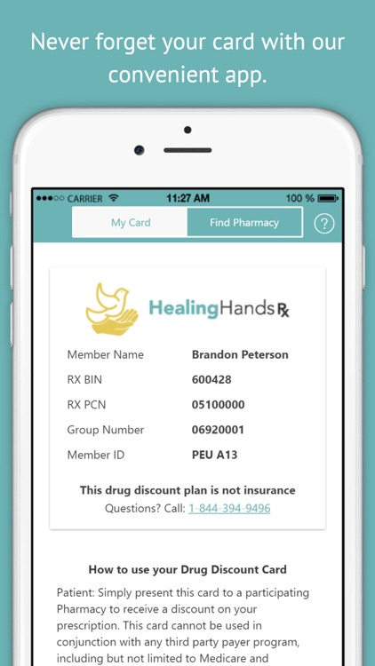 Healing Hands RX - Prescription Discounts for People of Faith