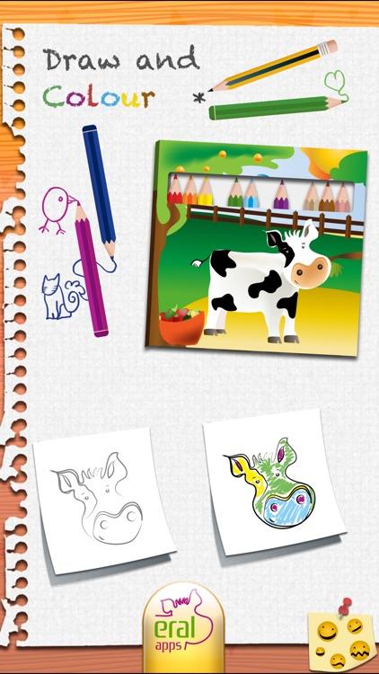Draw and Colour: The Farm screenshot-4