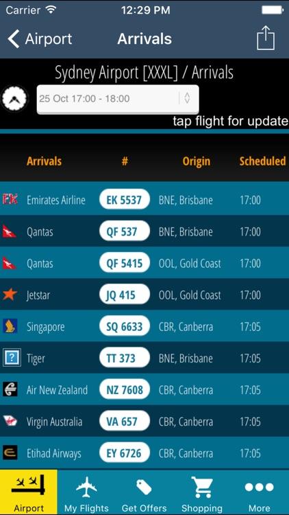Sydney Airport (SYD) + Flight Tracker Radar screenshot-3
