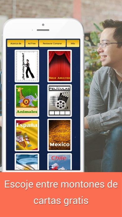 Adivina Que - Phone on heads dont look up Screenshot