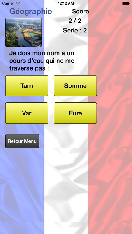 Départements de France - Liste et Quiz screenshot-4