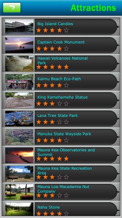 Big Island - Hawaii Offline Travel Guide