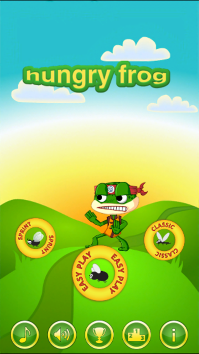 Hungry Frog Lite screenshot one