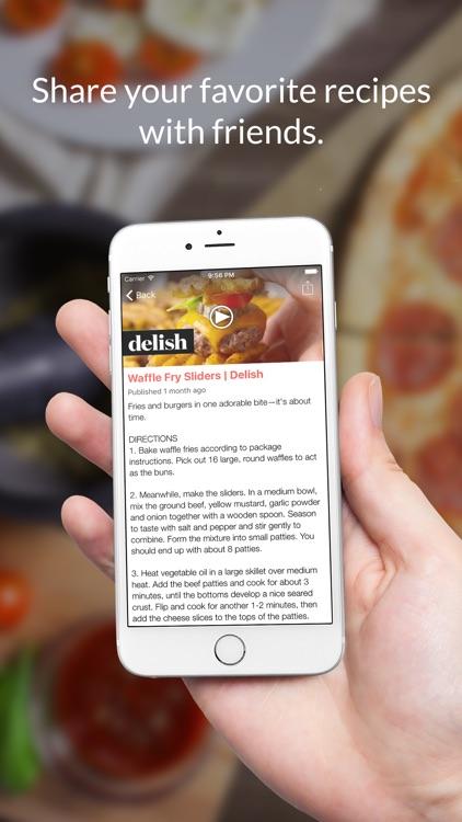 Burger Recipes: Food recipes, cookbook, meal plans screenshot-3