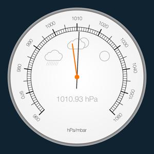 Barometer & Altimeter for iPhone/iPad Weather app