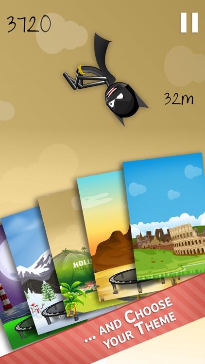 Stickman Trampoline - Backflip & Frontflip Action! screenshot-3