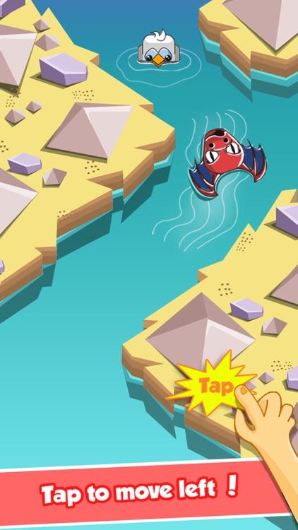 Happy Dragon Arrow: An Endless Crossy Swim Mania screenshot-3