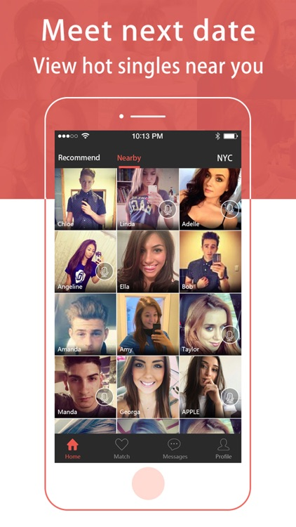 Adult Dating-Sexy hook up app for naughty singles screenshot-3