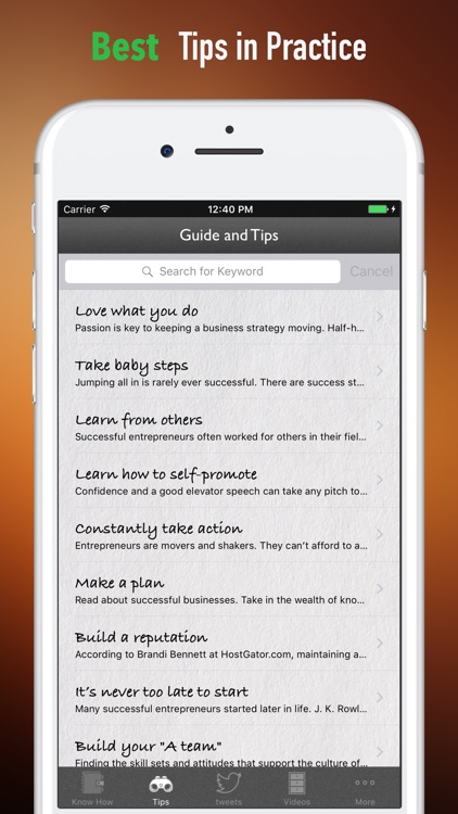 How to Become A Successful Entrepreneur-Recipe screenshot-3