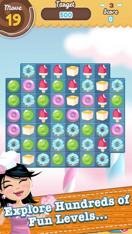 Candy Sweet Fruit Splash - Match and Pop 3 Puzzle screenshot-3