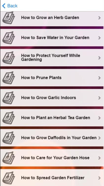 Gardening Tips: Learn How To Plant Garden screenshot-4