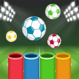 Colors Football -  لعبة كرة الالوان