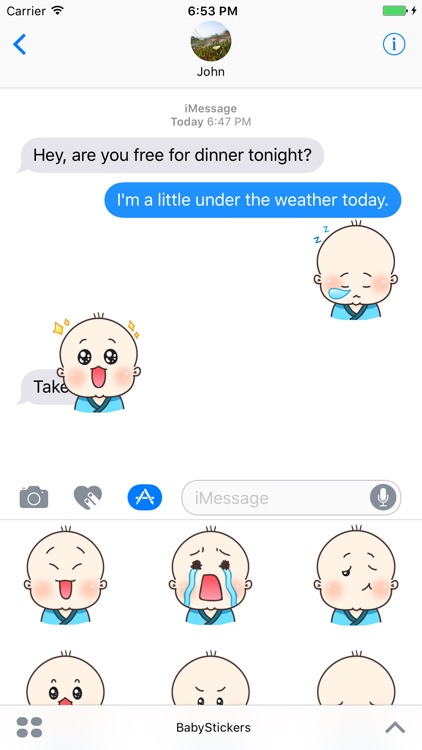 Little Baby Stickers