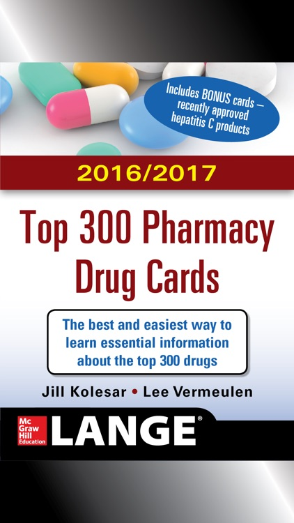 Top 300 Pharmacy Drug Cards