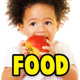 Baby First Words And Flashcards: Food Items