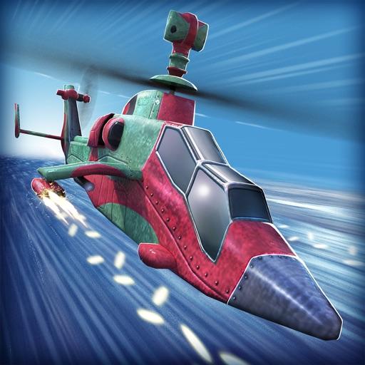 Hubschrauber Krieg 3D . Flugzeug Simulator Schieß