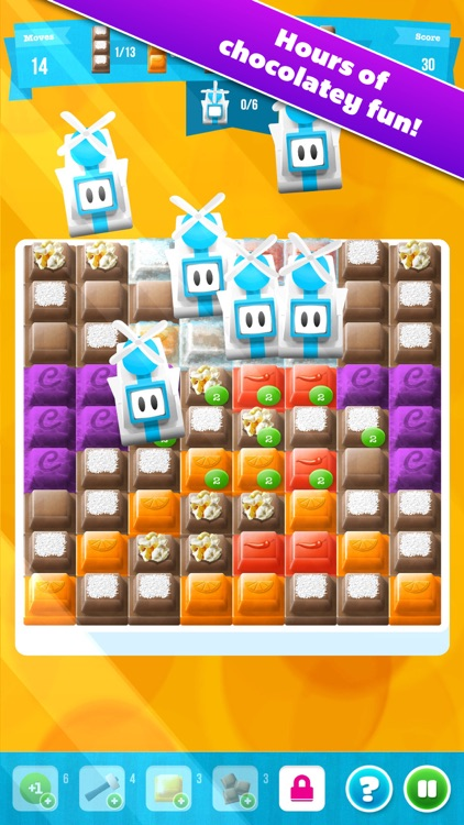 Choco Blocks: Christmas Edition Free by Mediaflex Games screenshot-3