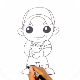 Learn to Draw Popular Characters Step by Step