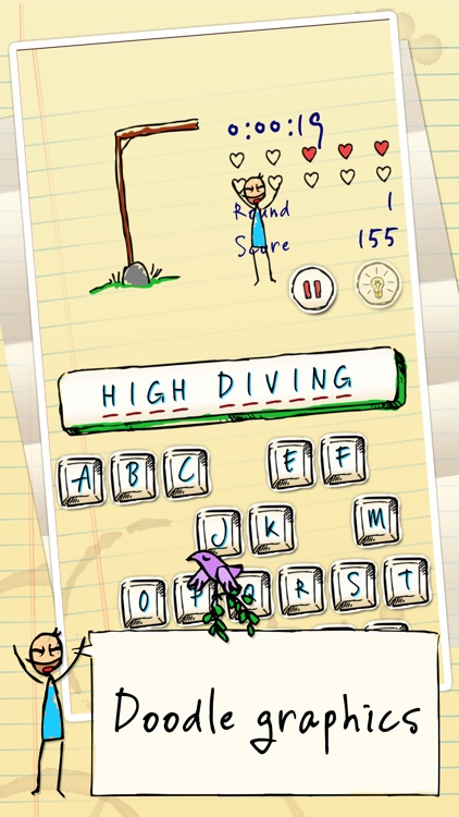 Hangman Hero FREE screenshot-0