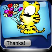 Tarjetas de felicitaciones y emoticones para iMessage, MMS y Email