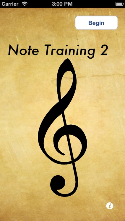 Note Training
