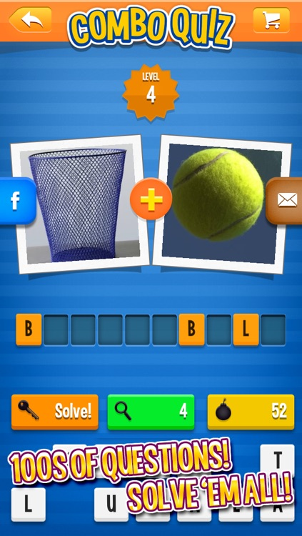 Combo Quiz: a word and picture game screenshot-3