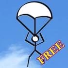 棒人間の冒険 - 空を飛ぶ フリー icon