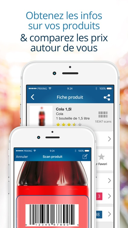 Prixing - Comparateur de prix, shopping, promotions et liste de courses