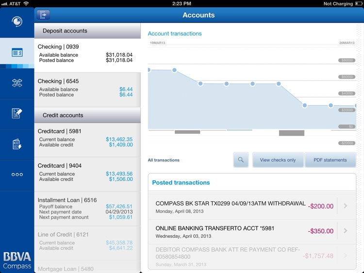 BBVA Compass screenshot-1