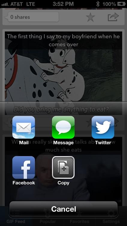 The GIFs App