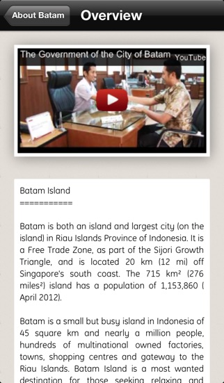 Batam Island Indonesia iPhone