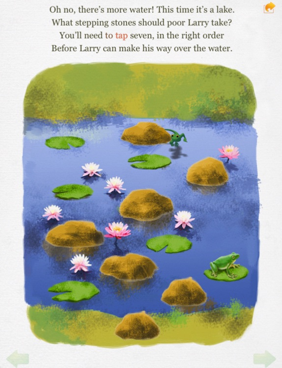 Lost Larry interactive story book - Wasabi Productions screenshot-3