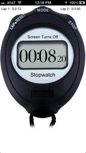 Jumbo Stopwatch on the App Store