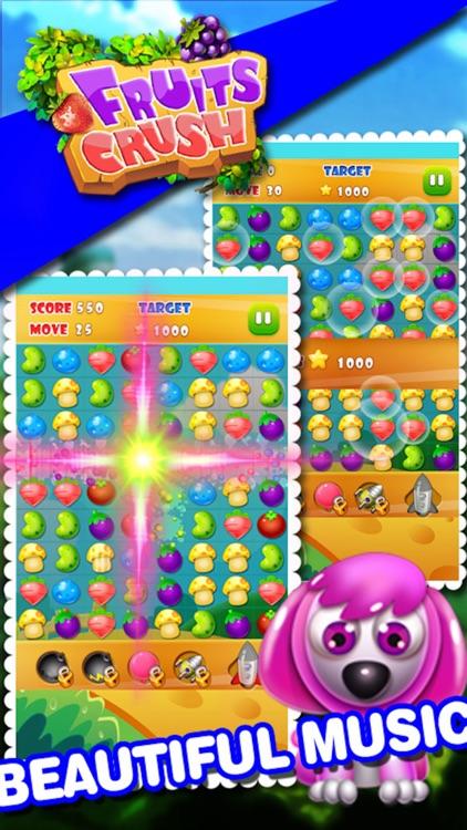 Farm Fruits Mania Bubble- Popular fruits or candy time killer casual game screenshot-4
