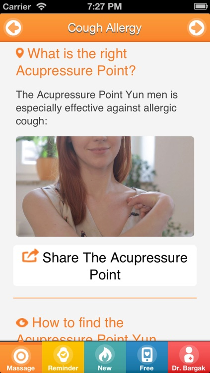 NO ALLERGY - Instant Acupressure Self-Treatment With Chinese Massage Points - Basic Trainer