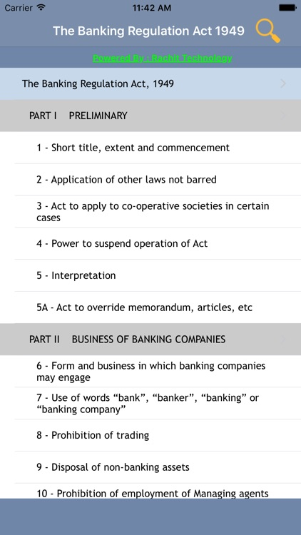banking regulation act 1949 section 8