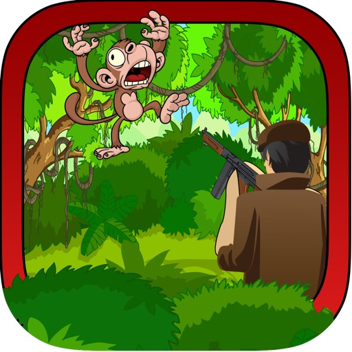 Jungle Monkey Hunting - A Forest Animal Shooting Mania Full