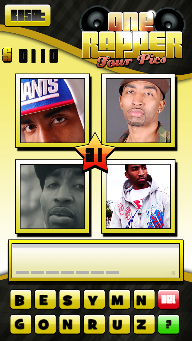 1 Rapper 4 Pics - Hip Hop Trivia Games screenshot four