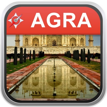 Offline Map Agra, India: City Navigator Maps