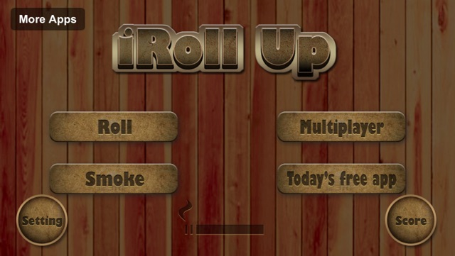 iRoll Up the Rolling and Smoking Simulator Game Screenshot