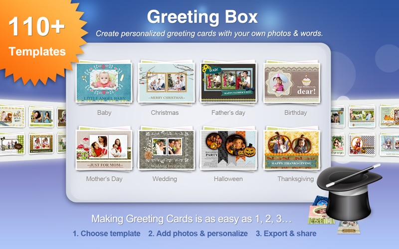 Greeting Box review screenshots