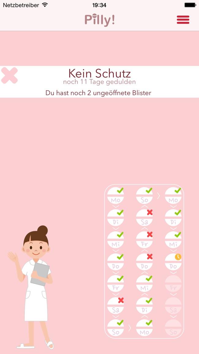 Pilly! - Dein Pillenwecker Screenshot