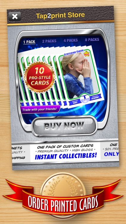 Women's Gymnastics Card Maker - Make Your Own Custom Gymnastics Cards with Starr Cards screenshot-4