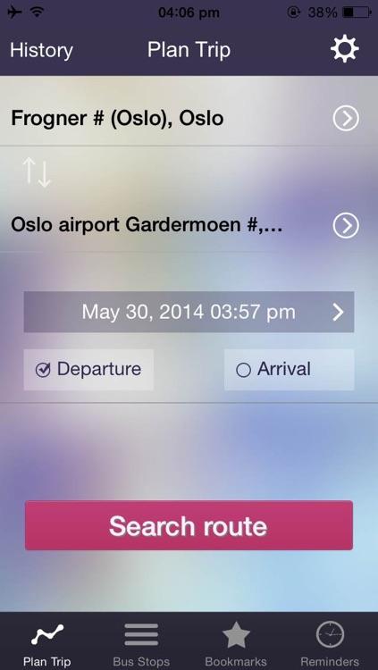 ruter no kart Ontimely Oslo, norway RuterReise reiseplanlegger,ruter.no  ruter no kart