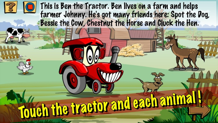 Ben the Tractor and the lost sheep