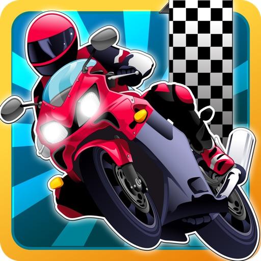 Fun Motorcycle Race Game Free!